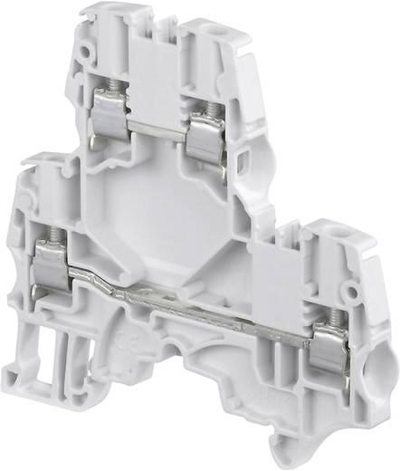 Doppelstock-Durchgangsklemme 5.2 mm Schrauben Belegung: L Grau ABB 1SNK 505 210 R0000 1 St.
