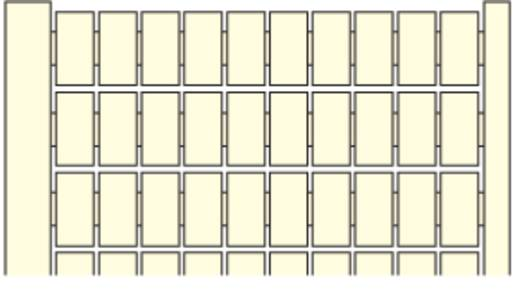 Markierungsetiketten für Serie SNK MC512 ABB 1 St.
