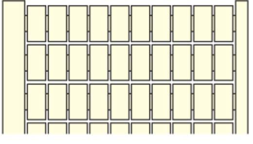 Markierungsetiketten für Serie SNK MC812 ABB 1 St.