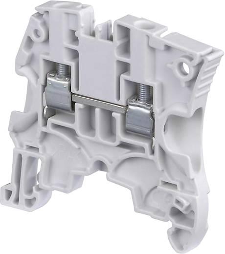 Durchgangsklemme 6 mm Schrauben Weiß ABB 1SNK 506 065 R0000 1 St.