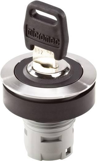 Schlüsselschalter Edelstahl 1 x 90 ° Schlegel RONTRON R JUWEL RRJVASSA15 10 St.