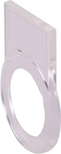 Schildträger (L x B x H) 42 x 25 x 2.7 mm Transparent Schlegel RRJABT 10 St.