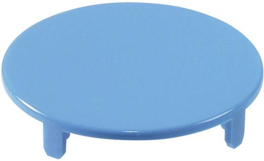 Tastkappe rund, flach Blau Schlegel T22RRGBL 10 St.