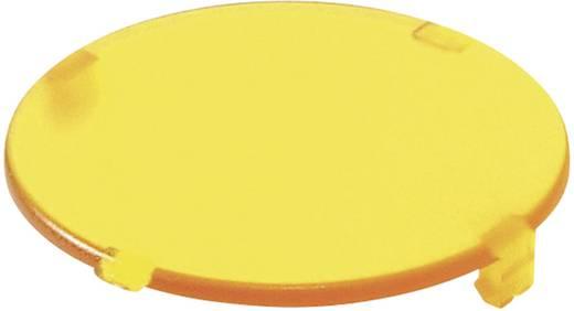 Tastkappe rund, flach Gelb Schlegel T20FGB 10 St.