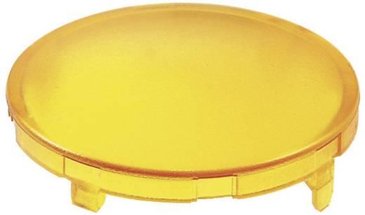Kalotte rund, gewölbt Gelb Schlegel KF23GB 10 St.