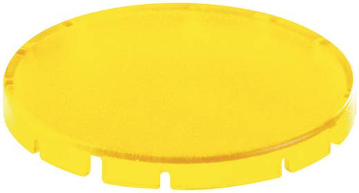 Tastkappe rund, flach Gelb Schlegel T30FGB 10 St.