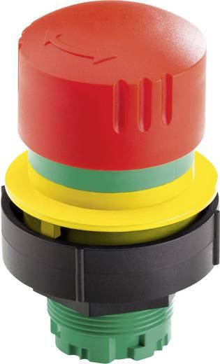 Not-Aus-Schalter überlistungssicher, mit Schutzkragen Gelb, Rot Drehentriegelung Schlegel KOMBITAST R JUWEL KRJUV 10 S