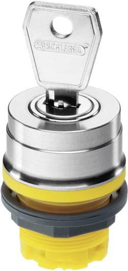 Commutateur à clé Schlegel RVASSA14E_GB jaune 1 x 90 ° déverrouillage par clef 10 pc(s)