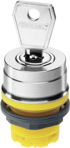 Schlüsselschalter Anthrazit 2 x 90 ° Schlüsselentriegelung Schlegel RVASSA12E_DG 10 St.