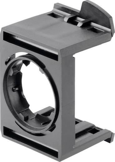 Adapterplatte 3-fach Schwarz Schlegel MHR_3 10 St.