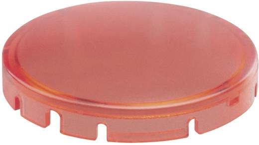 Tastkappe rund, gewölbt Rot Schlegel T22DRRRT 10 St.