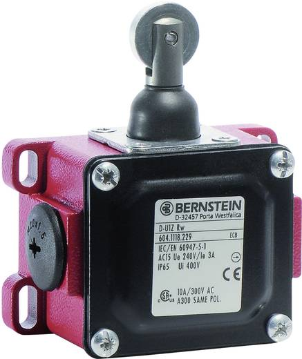 Endschalter 240 V/AC 10 A Rollenhebel tastend Bernstein AG D-U1Z RW IP65 1 St.