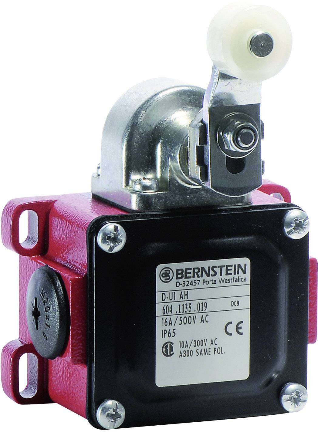 TRU COMPONENTS XZ-9//110 Endschalter 250 V//AC 10A Rollenschwenkhebel tastend IP65