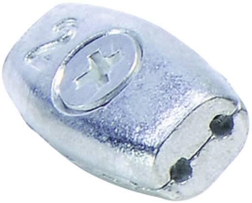 Seilklemme Eiform (L x B x H) 34 x 20 x 14 mm Bernstein AG 2690000006 1 St.
