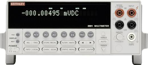 Tisch-Multimeter digital Keithley 2001 Kalibriert nach: Werksstandard (ohne Zertifikat) Anzeige (Counts): 10000000