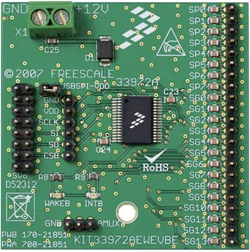 Entwicklungsboard NXP Semiconductors KIT33972AEWEVBE