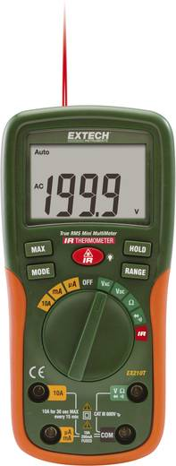 Extech EX210T Hand-Multimeter digital Kalibriert nach: ISO IR-Thermometer CAT III 600 V Anzeige (Counts): 2000
