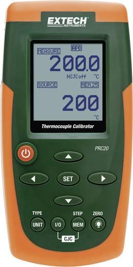 Extech PRC20 Kalibrator Temperatur 6x Mignon-Batterie AA (enthalten), Netzteil (enthalten) Kalibriert nach Werksstandard