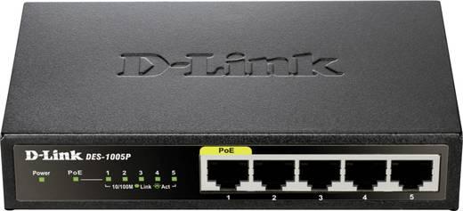 Netzwerk Switch RJ45 D-Link DES-1005P 5 Port 100 MBit/s PoE-Funktion