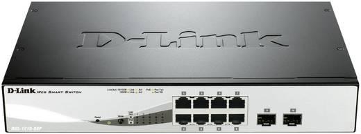 Netzwerk Switch RJ45 D-Link DGS-1210-08P 8 + 2 Port 1 Gbit/s