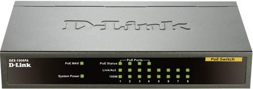 Netzwerk Switch RJ45 D-Link DES-1008PA 8 Port 100 MBit/s PoE-Funktion