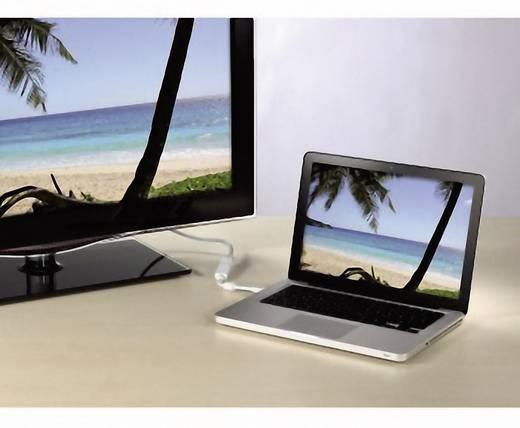 DisplayPort / DVI Adapter [1x Mini-DisplayPort Stecker - 1x DVI-Buchse 24+5pol.] Weiß mit Ferritkern Hama