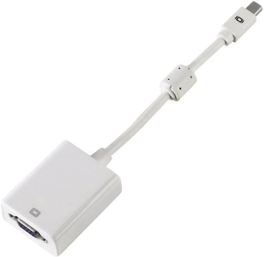 DisplayPort / VGA Adapter [1x Mini-DisplayPort Stecker - 1x VGA-Buchse] Weiß mit Ferritkern Hama