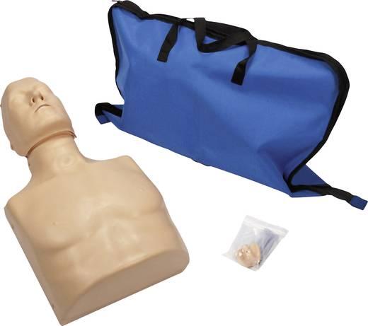 MEDX5 AK-HLW-PU-TT Übungspuppe zur Herzdruckmassage Haut-Farbe