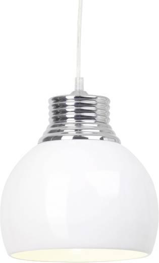 Pendelleuchte Energiesparlampe E27 53 W Brilliant Ina 07770/05 Weiß