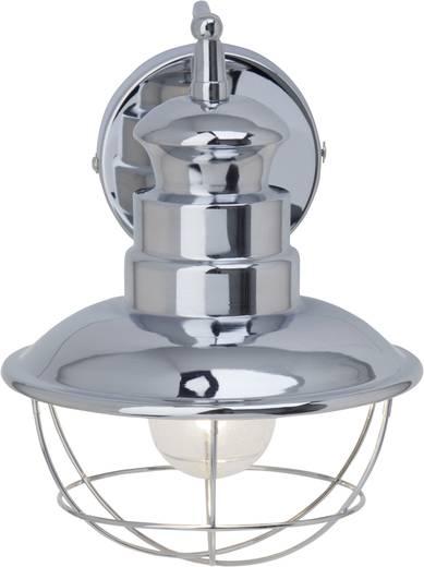 Wandleuchte E27 60 W Energiesparlampe Brilliant Martu 22710/15 Chrom