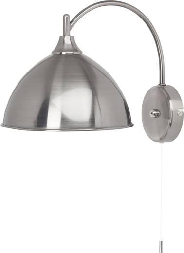 Wandleuchte E14 40 W Energiesparlampe Brilliant Enzio 66411/43 Zinn