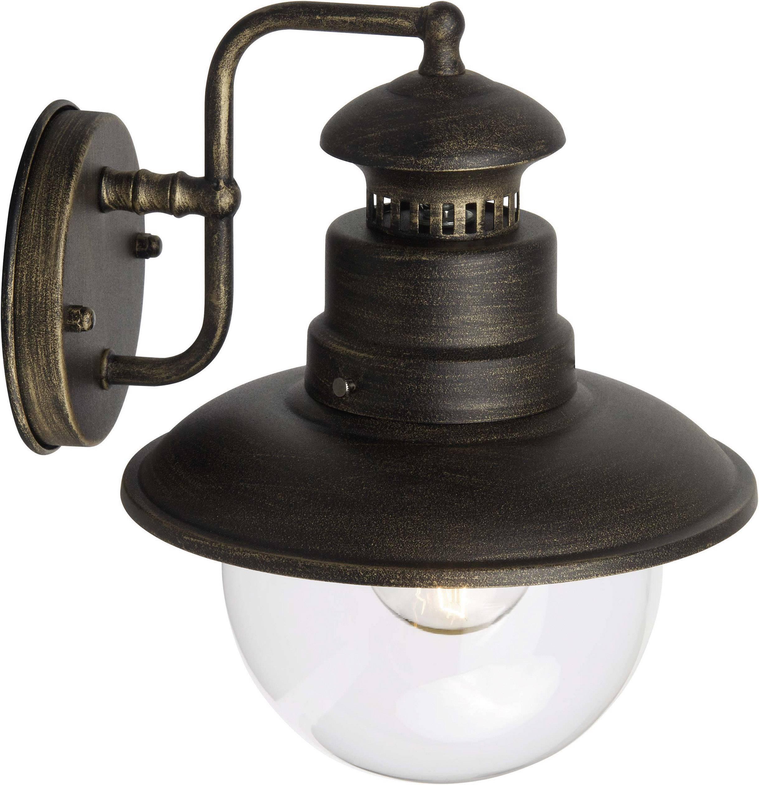 Brilliant 9612886 SchwarzGold 53 W Außenwandleuchte Artu EnergiesparlampeLED E27 qUMSzVp
