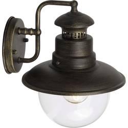 Image of Brilliant Artu 96128/86 Außenwandleuchte Energiesparlampe, LED E27 53 W Schwarz, Gold