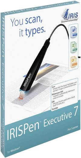 Stift-Scanner IRIS by Canon IRISPen™ Executive 7 USB Übersetzungsfunktion