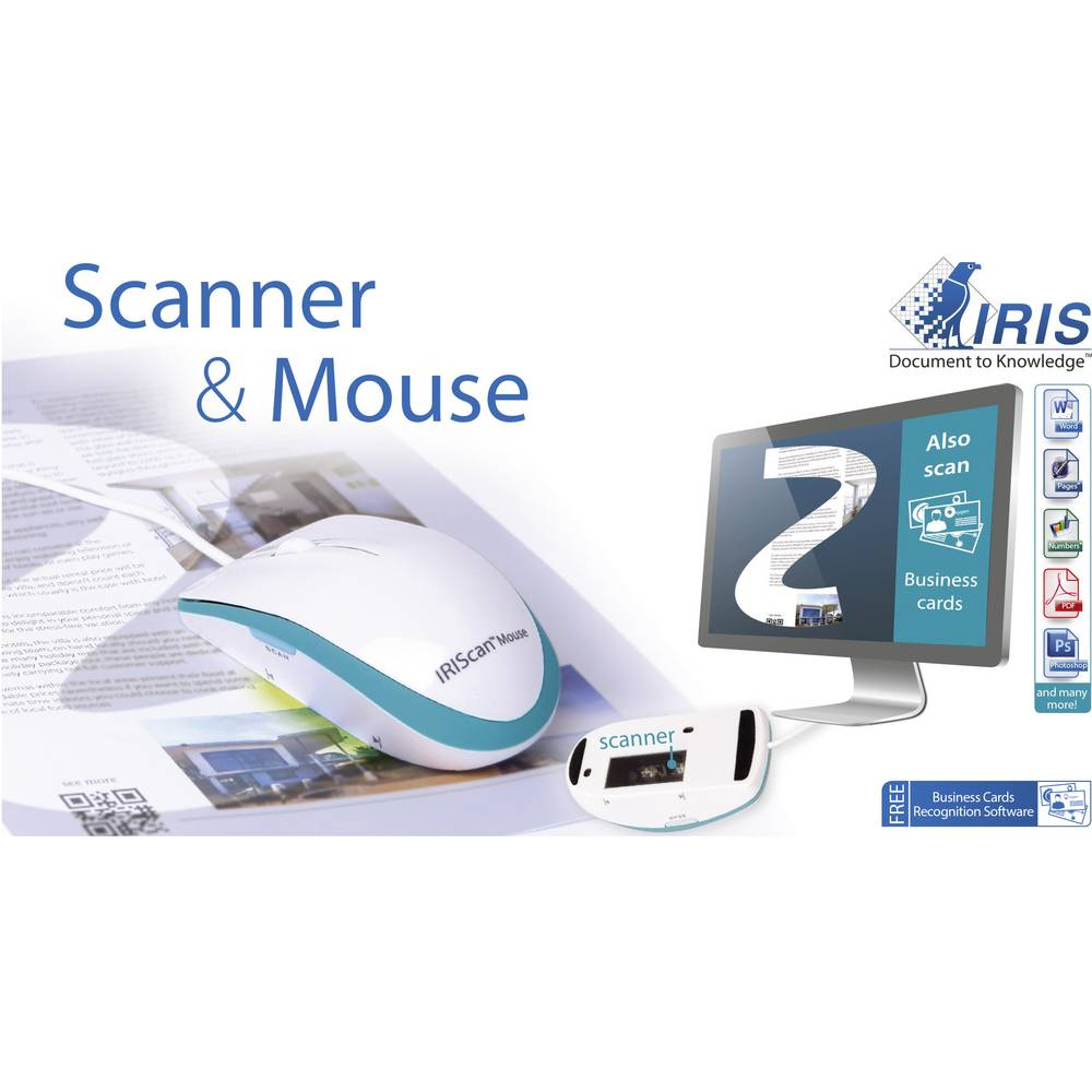 Scanner mouse A3 IRIS by Canon IRIScan™ Mouse Executive 2 N/A USB ...