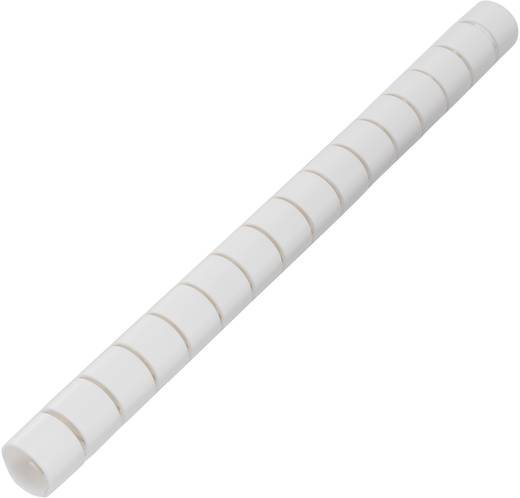 Kabelschlauch 25 mm (max) Weiß KL25WEZ-20M KSS Meterware