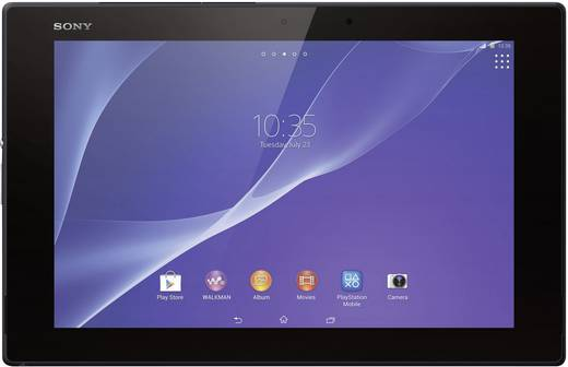 sony xperia tablet z2 25 6 cm 10 1 32 gb wifi schwarz. Black Bedroom Furniture Sets. Home Design Ideas