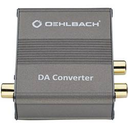 Audio konvertor Toslink zásuvka (ODT), cinch zásuvka ⇔ cinch zásuvka Oehlbach DA Converter 6064