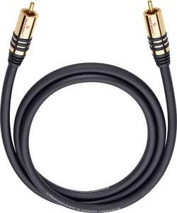 Cinch audio kabel Oehlbach 21535, 5 m, černá