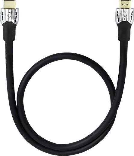 HDMI Anschlusskabel [1x HDMI-Stecker - 1x HDMI-Stecker] 1.2 m Schwarz Oehlbach Matrix Evolution