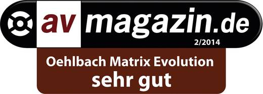 HDMI Anschlusskabel [1x HDMI-Stecker - 1x HDMI-Stecker] 5.1 m Schwarz Oehlbach Matrix Evolution