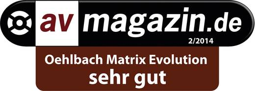 HDMI Anschlusskabel [1x HDMI-Stecker - 1x HDMI-Stecker] 20 m Schwarz Oehlbach Matrix Evolution