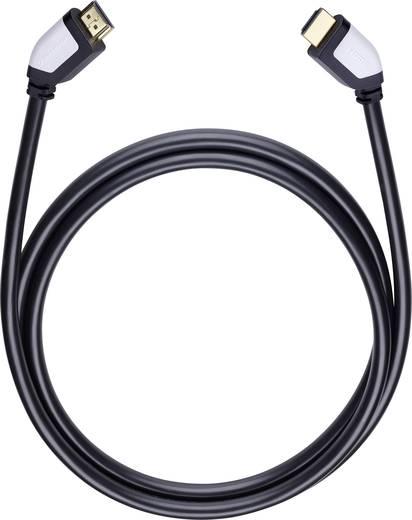 HDMI Anschlusskabel [1x HDMI-Stecker - 1x HDMI-Stecker] 7.5 m Schwarz Oehlbach Shape Magic