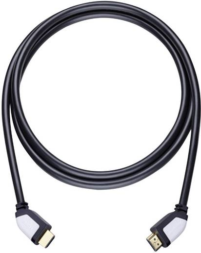 HDMI Anschlusskabel [1x HDMI-Stecker - 1x HDMI-Stecker] 1.7 m Schwarz Oehlbach Shape Magic