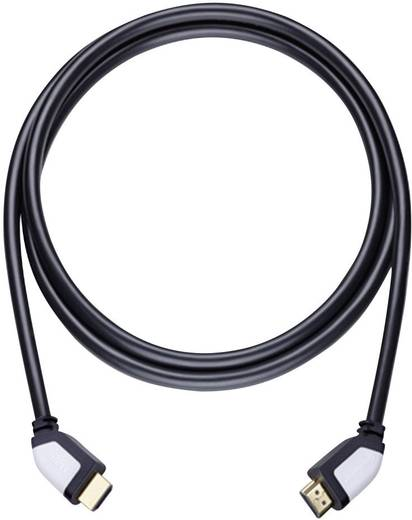 HDMI Anschlusskabel [1x HDMI-Stecker - 1x HDMI-Stecker] 2.2 m Schwarz Oehlbach Shape Magic