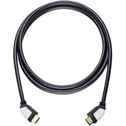 HDMI prepojovací kábel Oehlbach 42464, 5.10 m, čierna