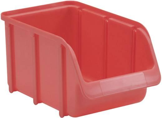 Lagersichtbox Größe 3 Rot (L x B x H) 240 x 145 x 125 mm