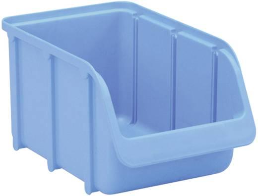 Lagersichtbox (L x B x H) 240 x 145 x 125 mm Blau Alutec 673300 1 St.
