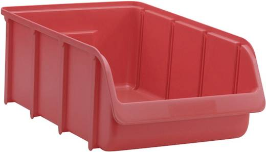 Lagersichtbox Größe 5 Rot (L x B x H) 495 x 315 x 185 mm