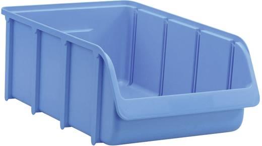 Lagersichtbox (L x B x H) 495 x 315 x 185 mm Blau Alutec 675300 1 St.